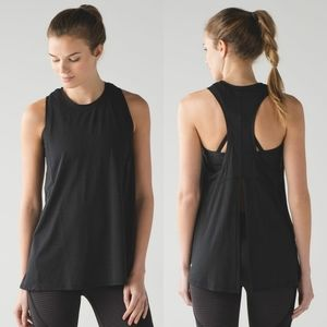 Lululemon Conduit Singlet Tank Black